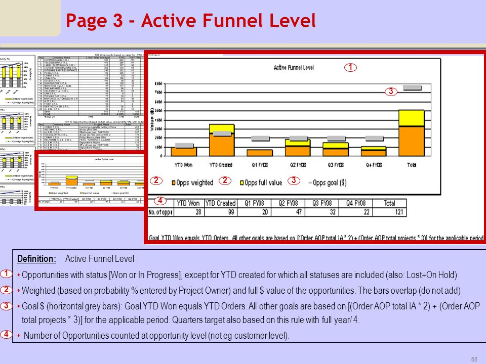 Page 3 - Active Funnel Level