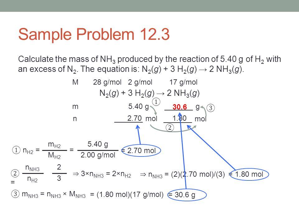 Sample Problem 12.3