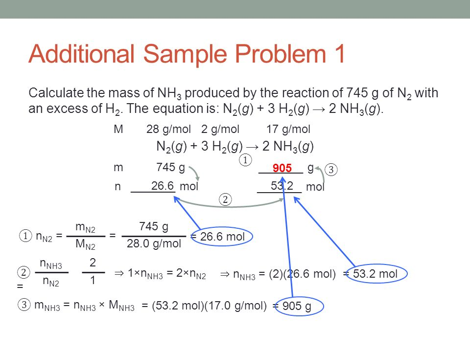 Additional Sample Problem 1