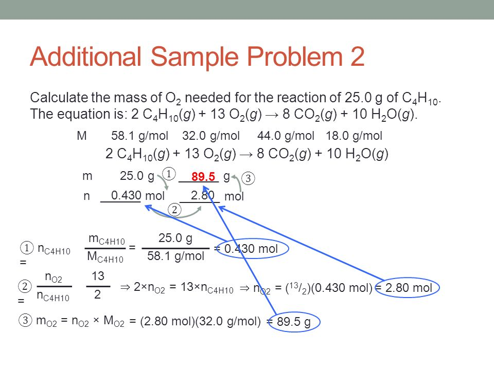 Additional Sample Problem 2