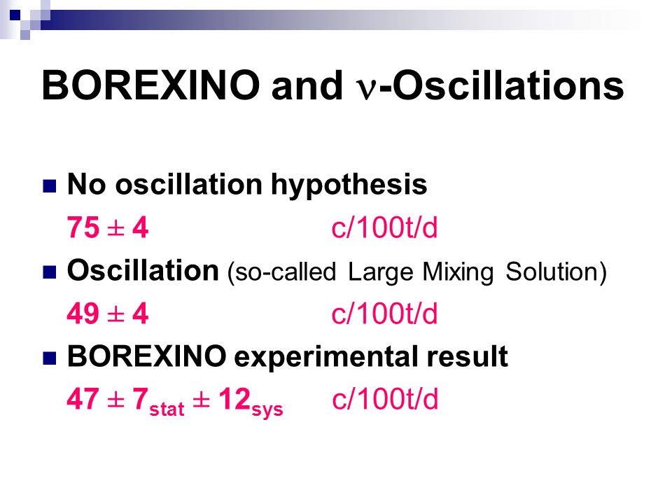 BOREXINO and n-Oscillations