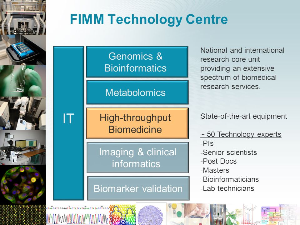 FIMM Technology Centre