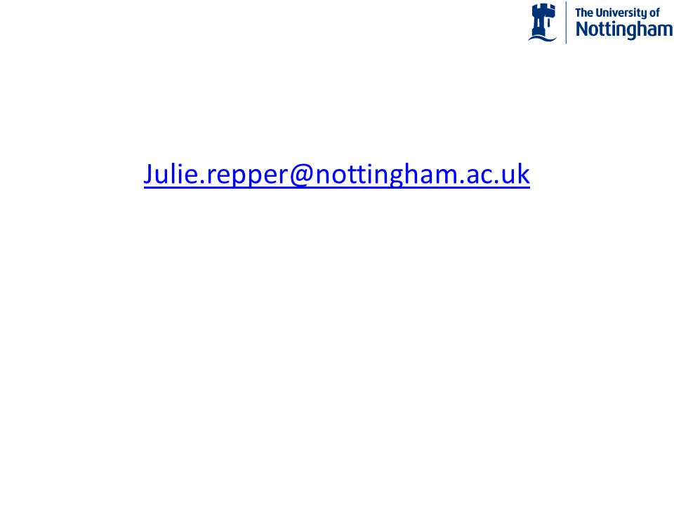 Julie.repper@nottingham.ac.uk