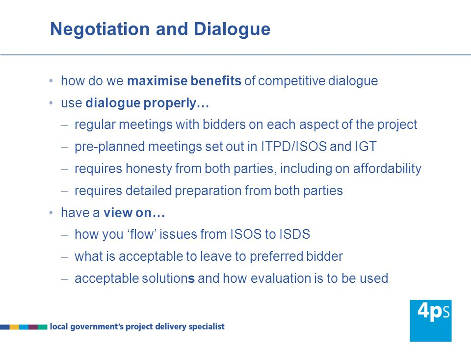 Negotiation and Dialogue