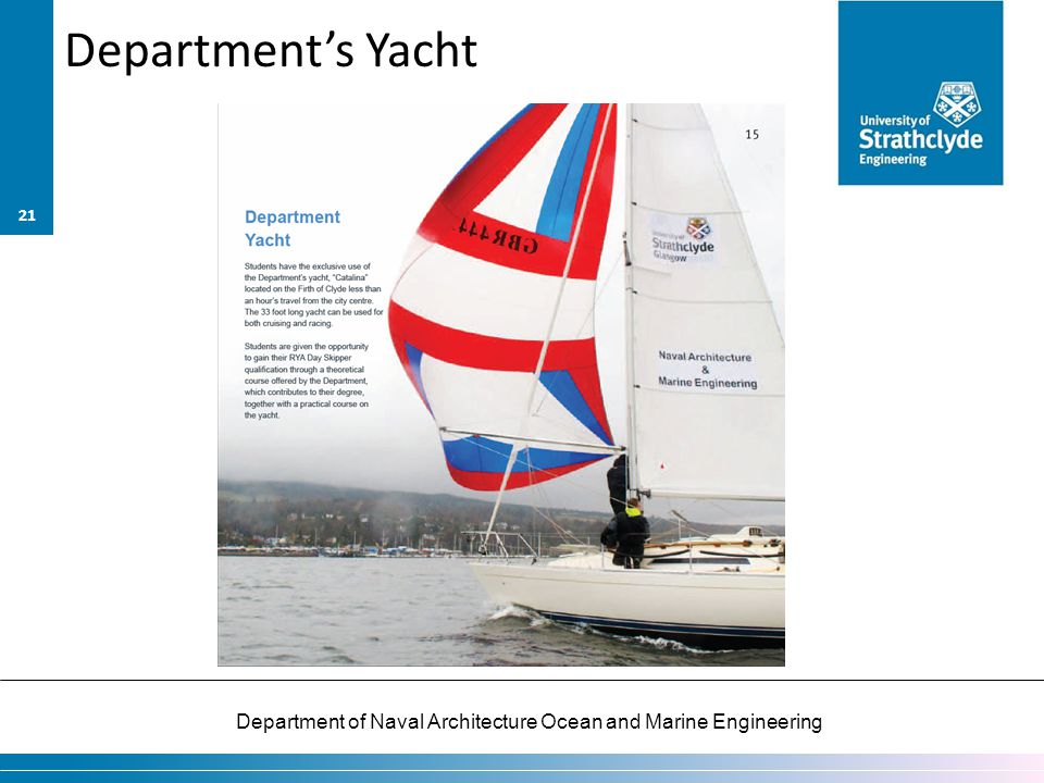 Department's Yacht