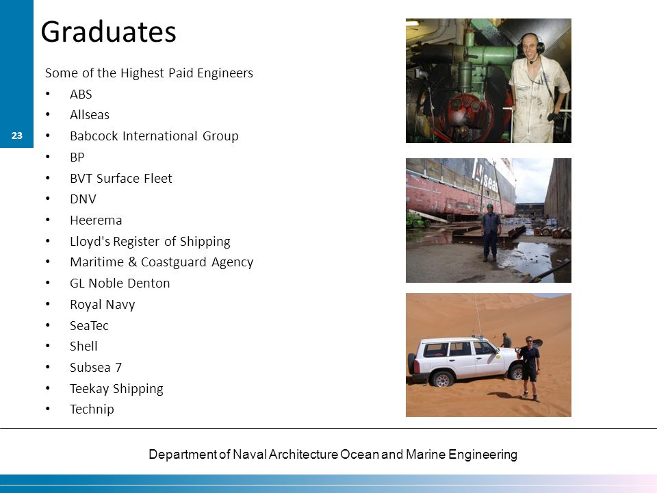 Graduates Some of the Highest Paid Engineers ABS Allseas