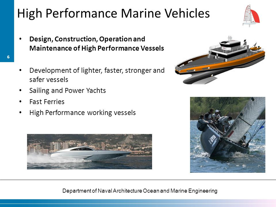 High Performance Marine Vehicles