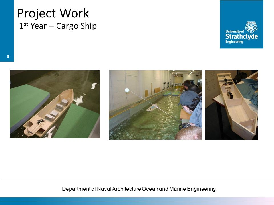 Project Work 1st Year – Cargo Ship