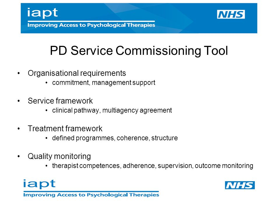 PD Service Commissioning Tool