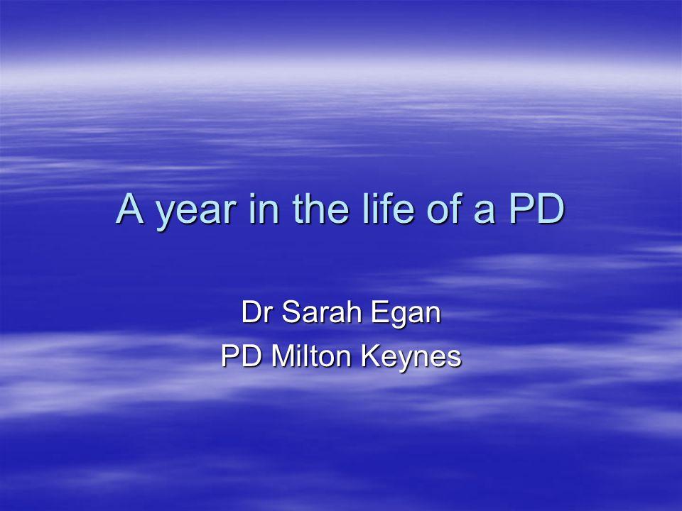 Dr Sarah Egan PD Milton Keynes