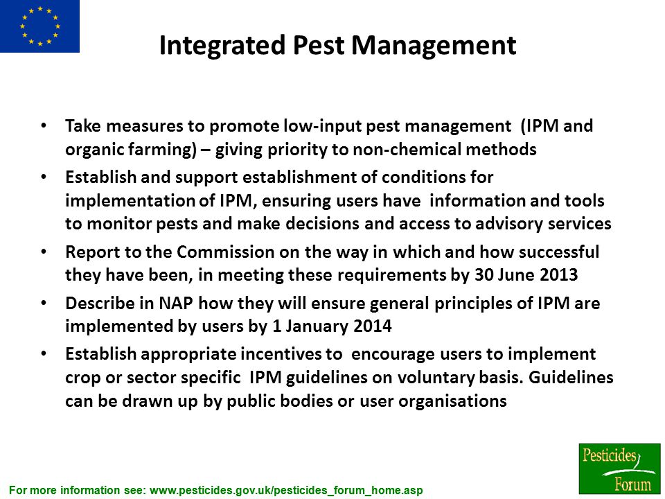 Integrated Pest Management