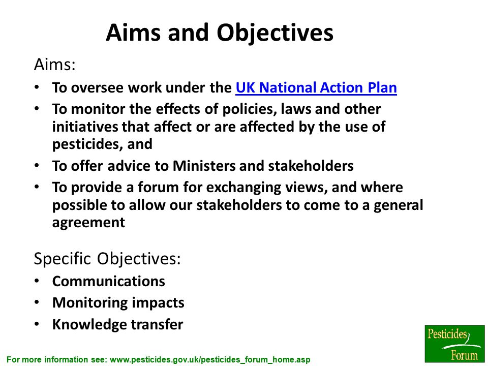 Aims and Objectives Aims: Specific Objectives:
