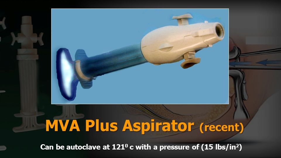 MVA Plus Aspirator (recent)