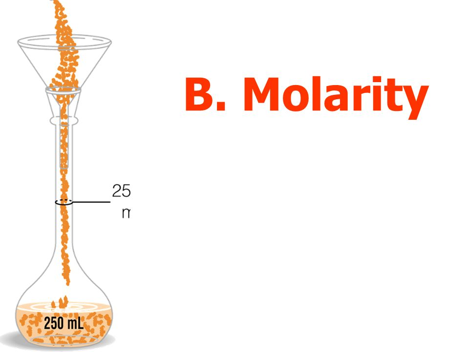 B. Molarity
