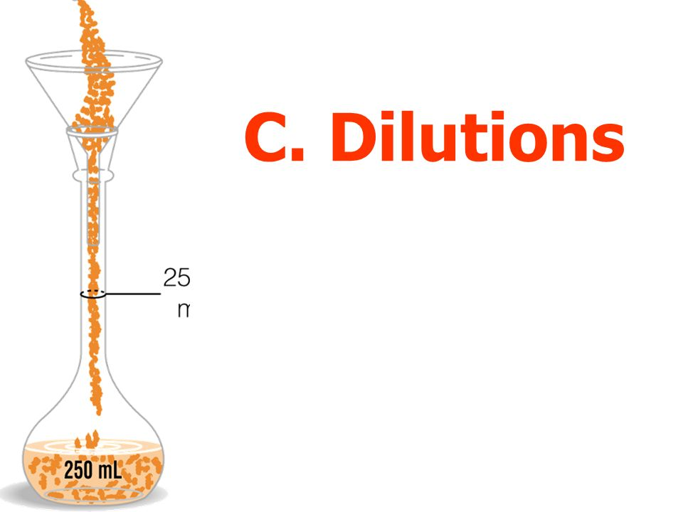 C. Dilutions