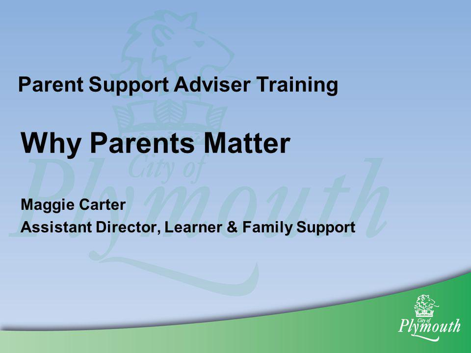 Maggie Carter Assistant Director, Learner & Family Support