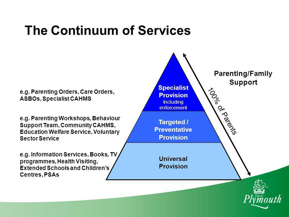 Targeted / Preventative Parenting/Family Support