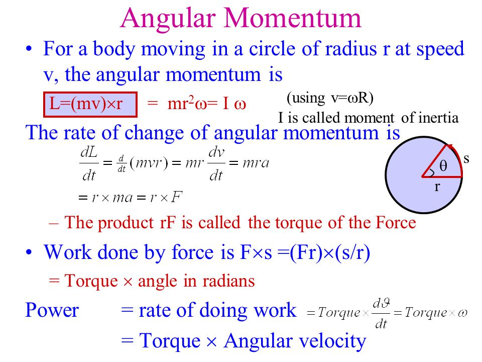 I is called moment of inertia