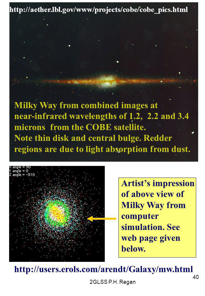 Milky Way from combined images at