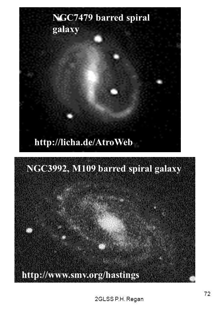 NGC7479 barred spiral galaxy