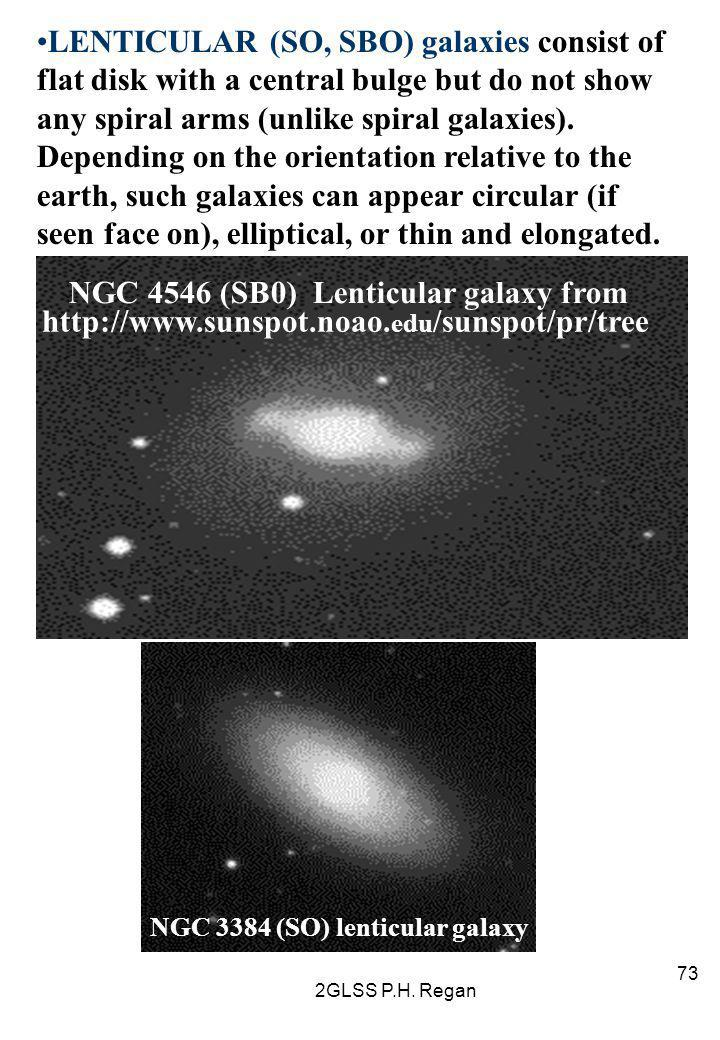 NGC 4546 (SB0) Lenticular galaxy from