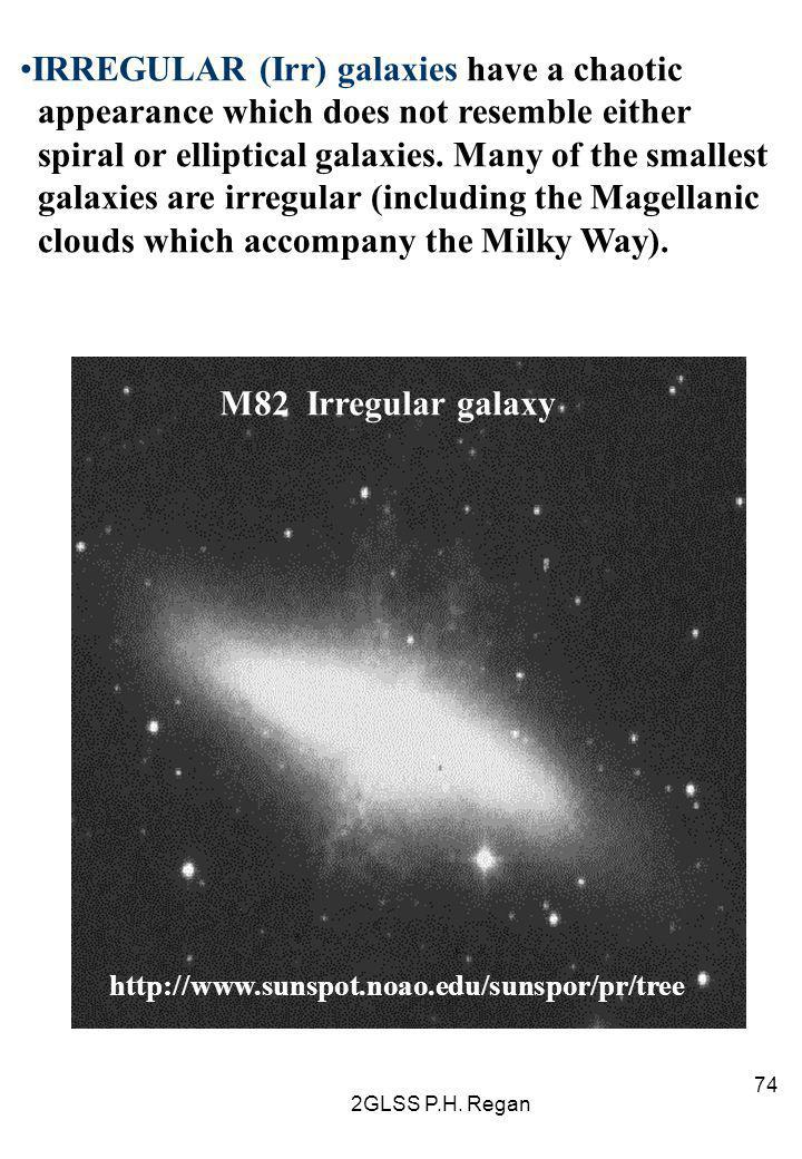 IRREGULAR (Irr) galaxies have a chaotic