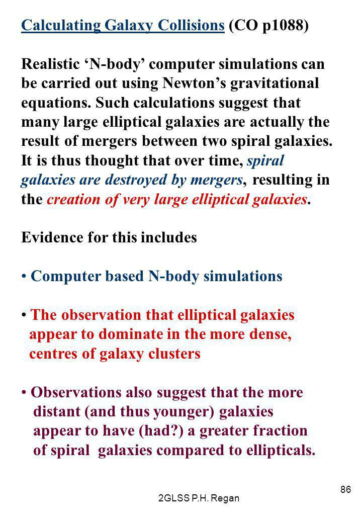 Calculating Galaxy Collisions (CO p1088)