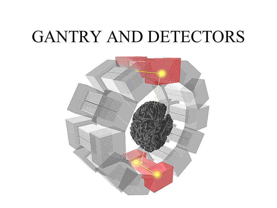 GANTRY AND DETECTORS