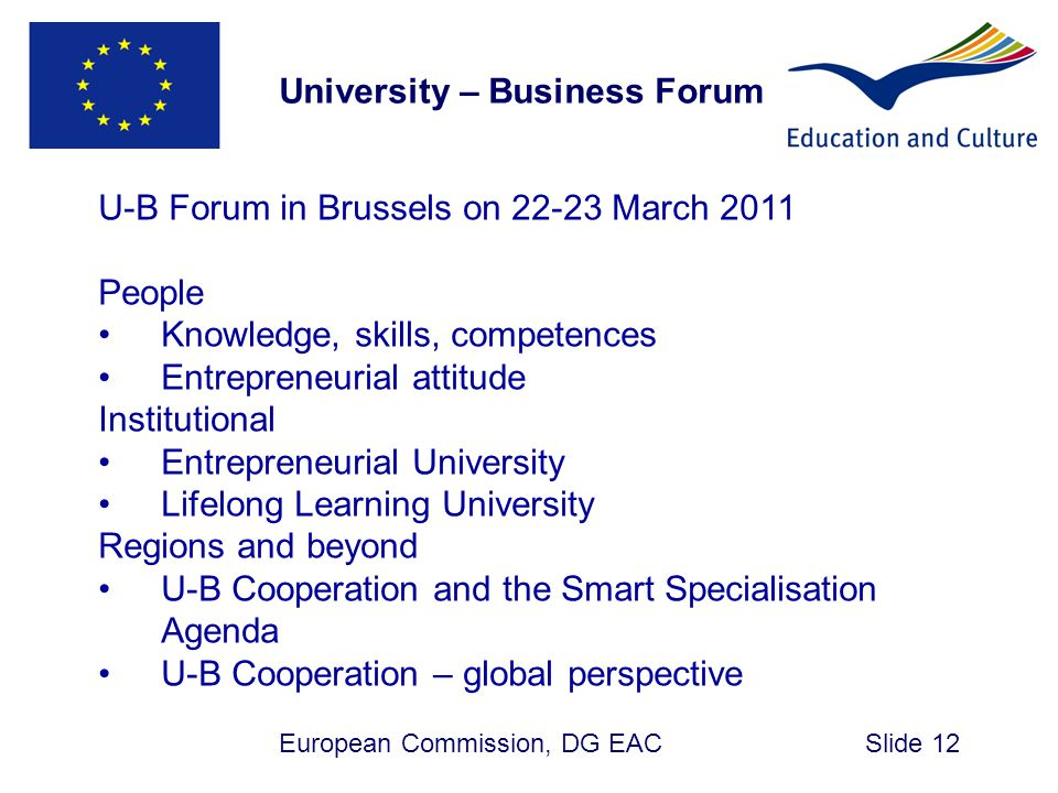 University – Business Forum