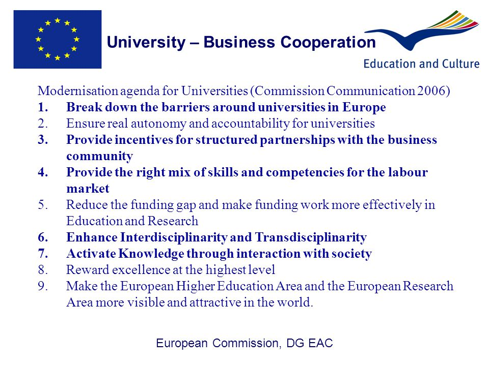 University – Business Cooperation