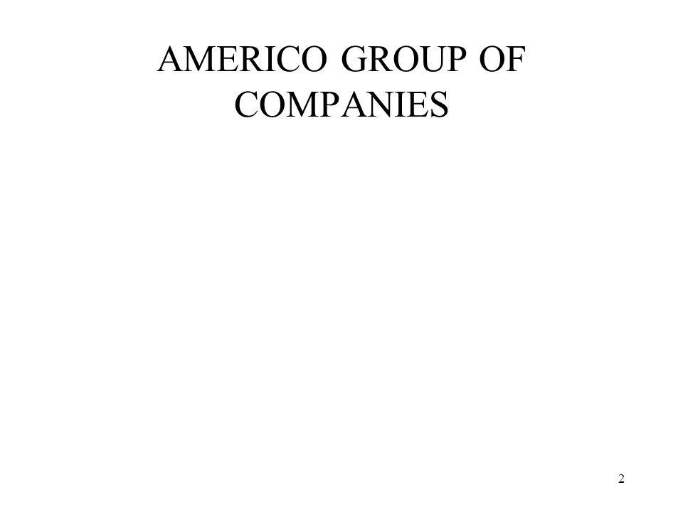 AMERICO GROUP OF COMPANIES