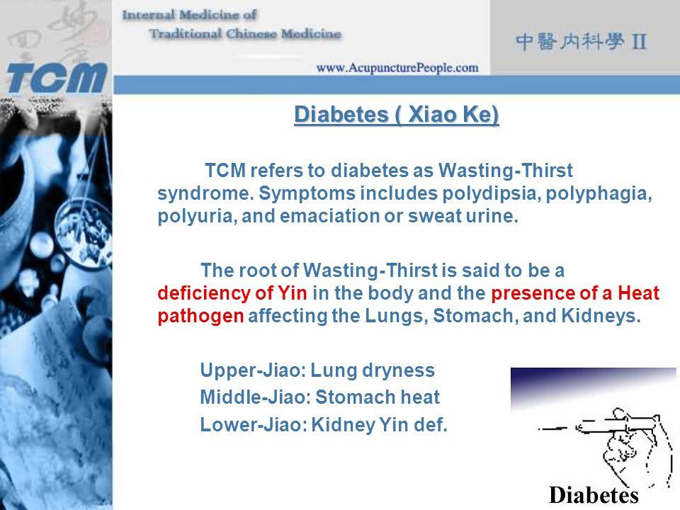 Diabetes ( Xiao Ke)