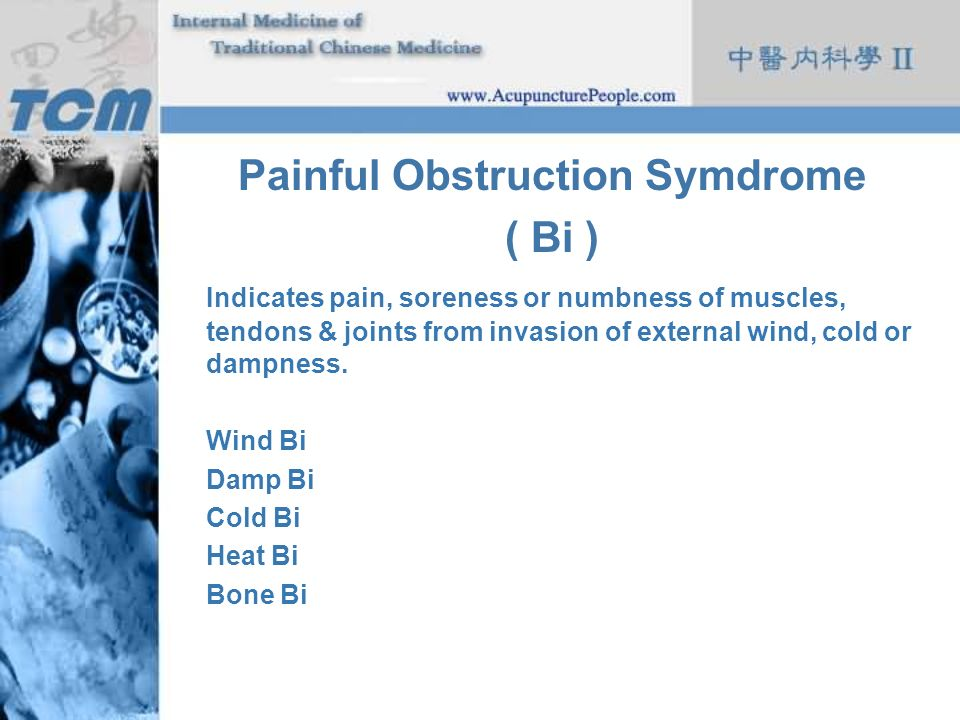 Painful Obstruction Symdrome