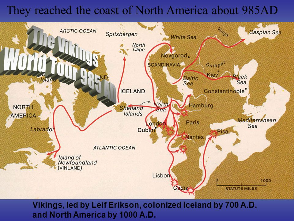 The Vikings World Tour 985 AD