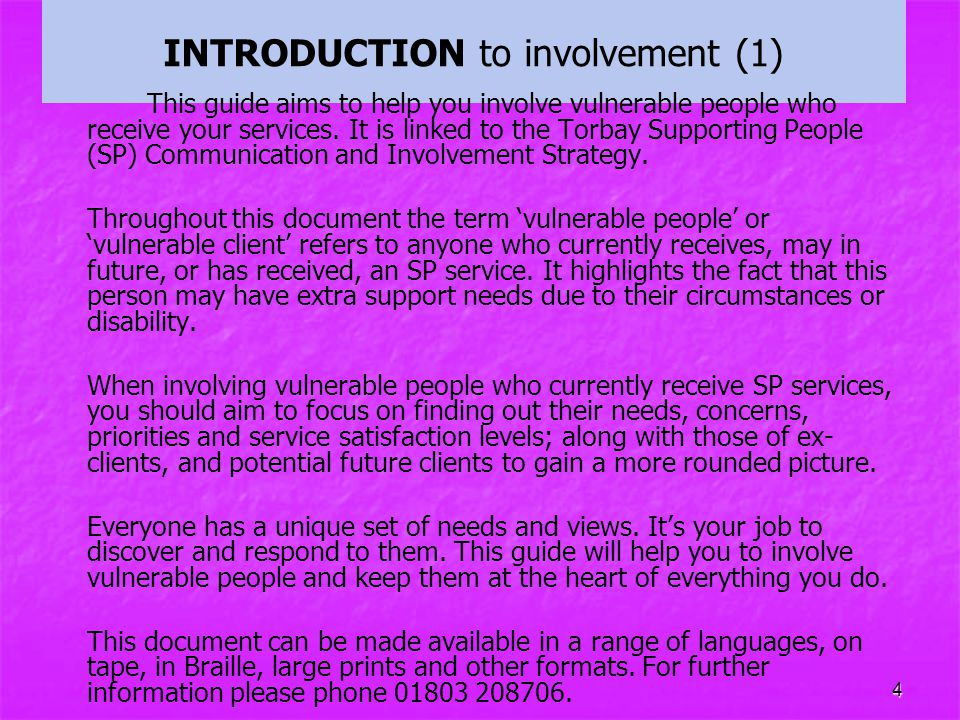 INTRODUCTION to involvement (1)