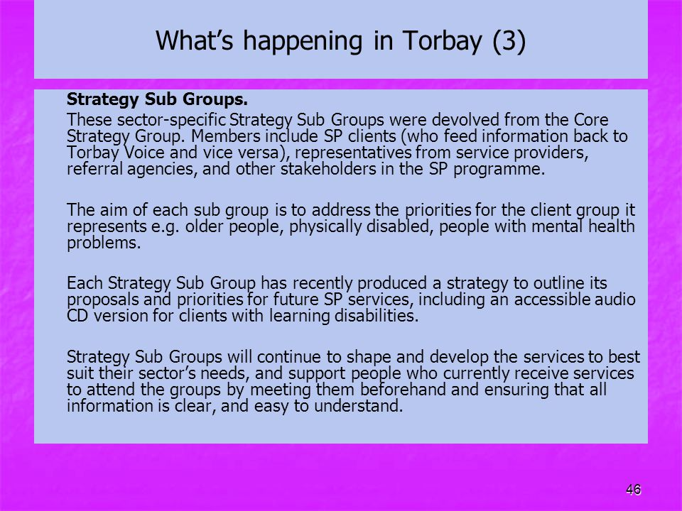 What's happening in Torbay (3)