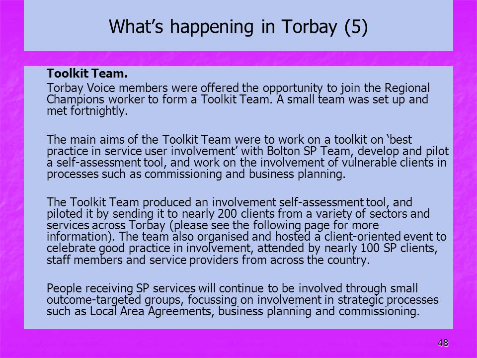 What's happening in Torbay (5)