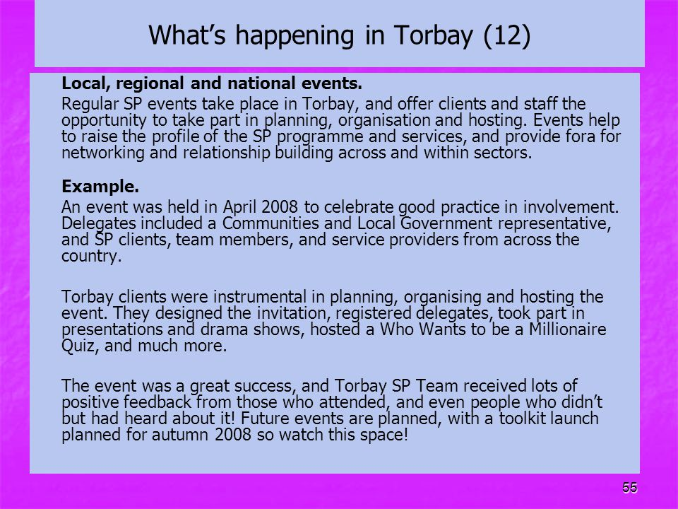 What's happening in Torbay (12)