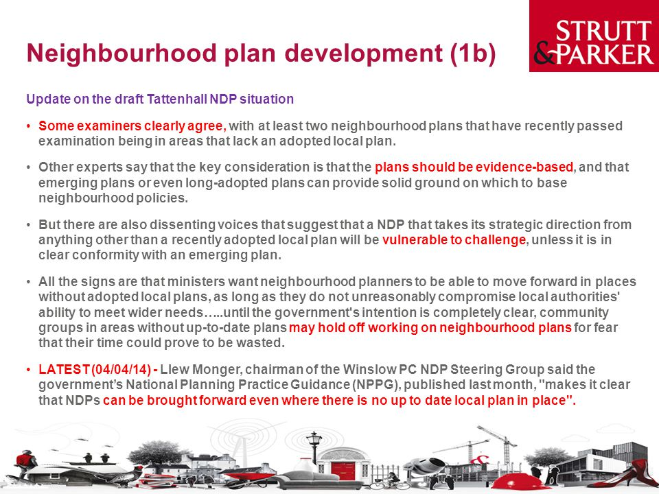 Neighbourhood plan development (1b)