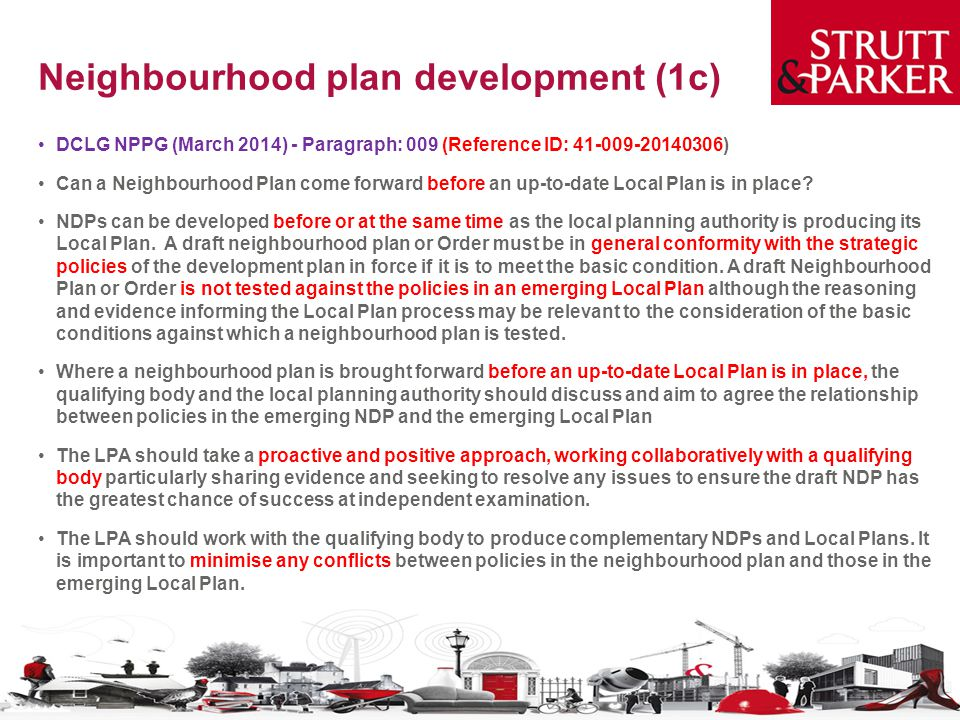 Neighbourhood plan development (1c)