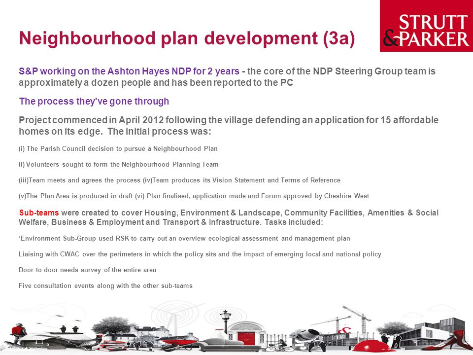 Neighbourhood plan development (3a)