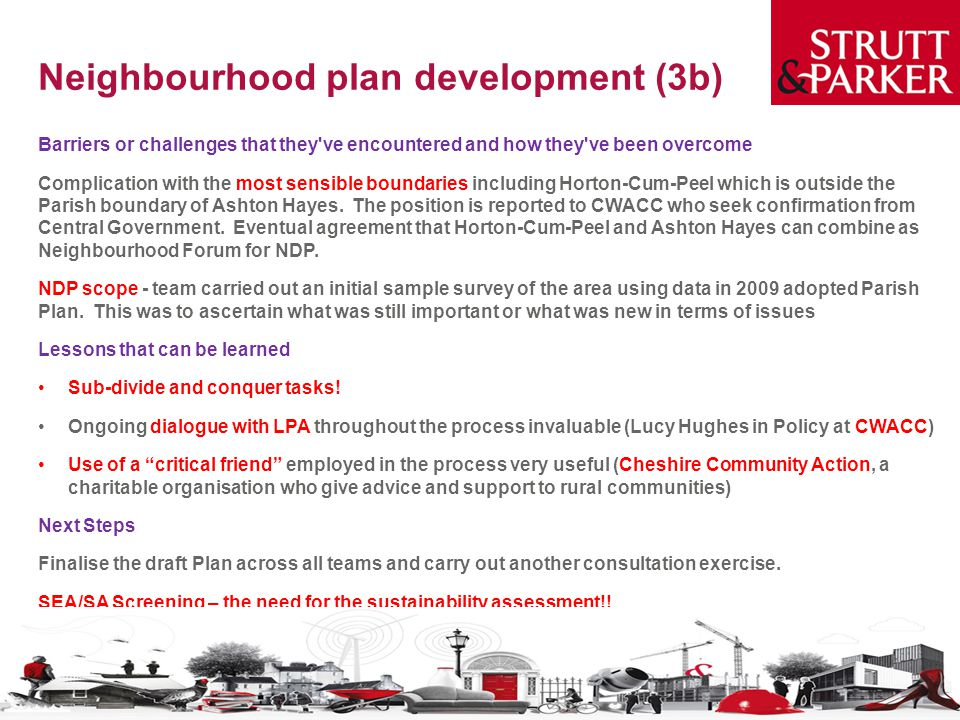 Neighbourhood plan development (3b)