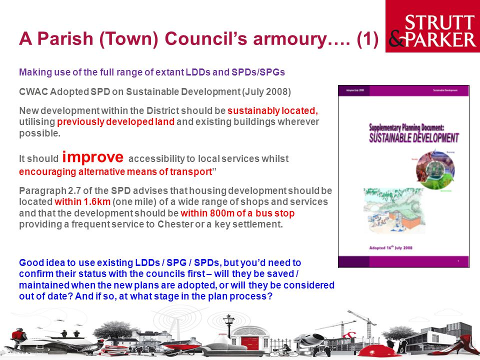 A Parish (Town) Council's armoury…. (1)
