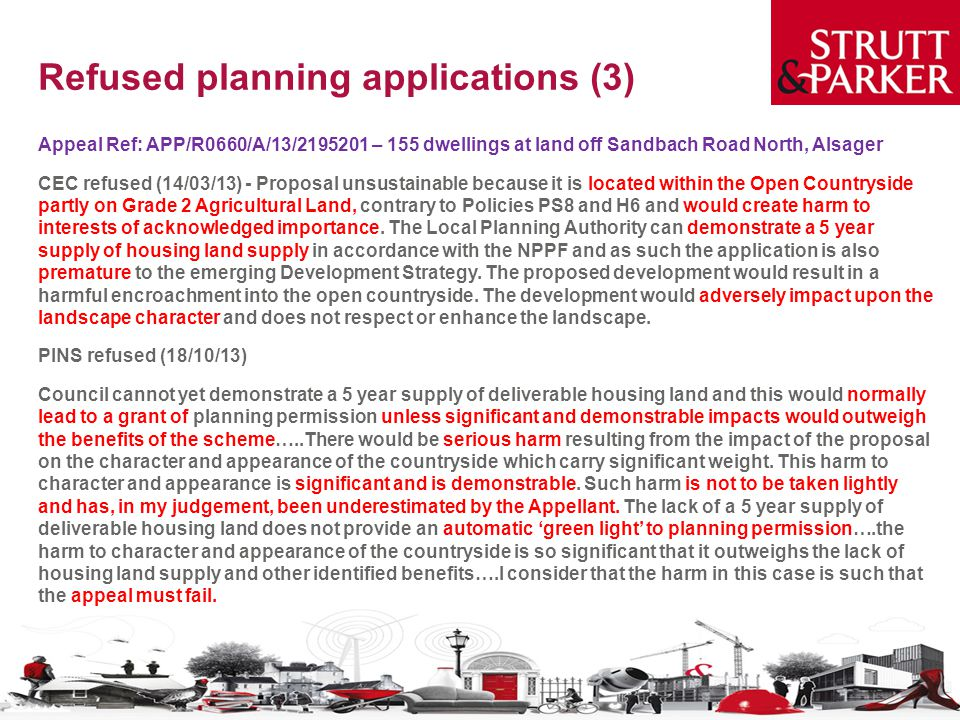 Refused planning applications (3)