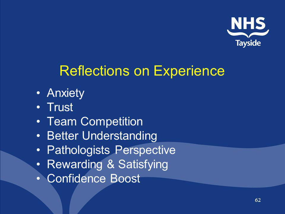 Reflections on Experience