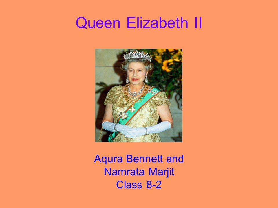 Aqura Bennett and Namrata Marjit Class 8-2