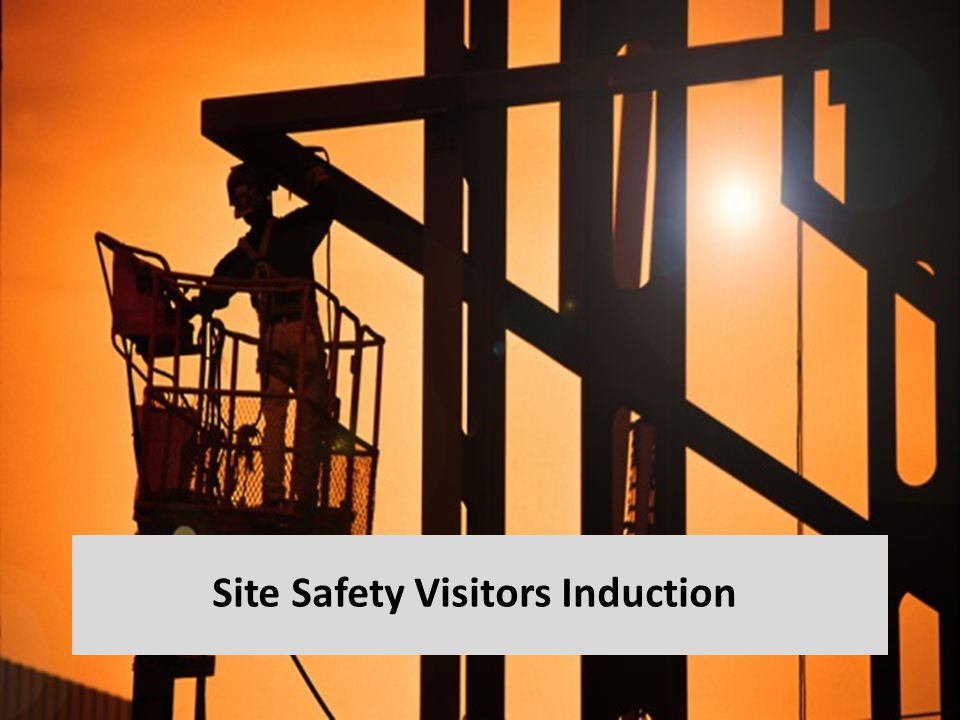 Site Safety Visitors Induction