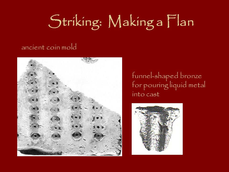 Striking: Making a Flan