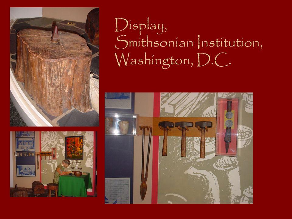 Display, Smithsonian Institution, Washington, D.C.