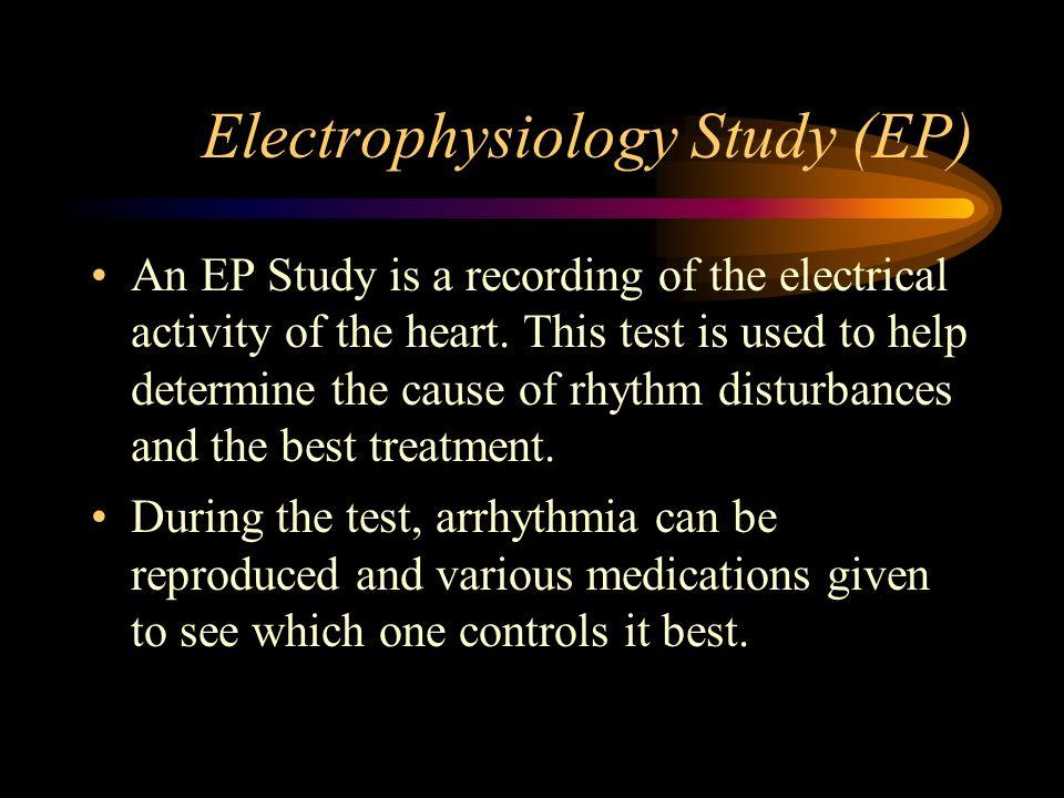 Electrophysiology Study (EP)